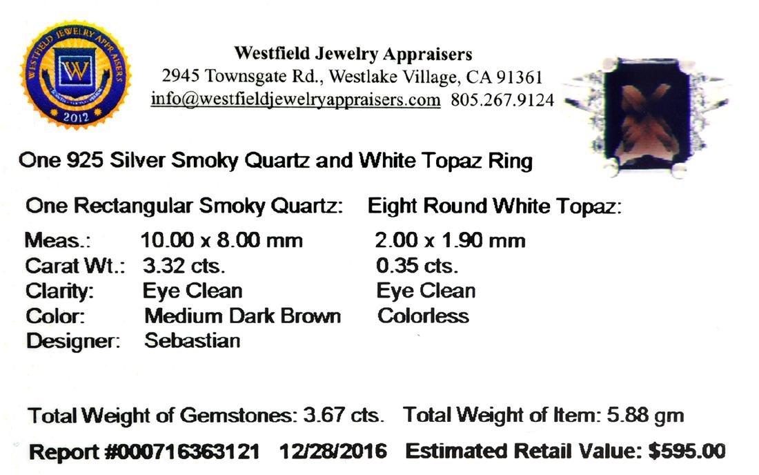 APP: 0.6k Fine Jewelry Designer Sebastian, 3.67CT Smoky - 2