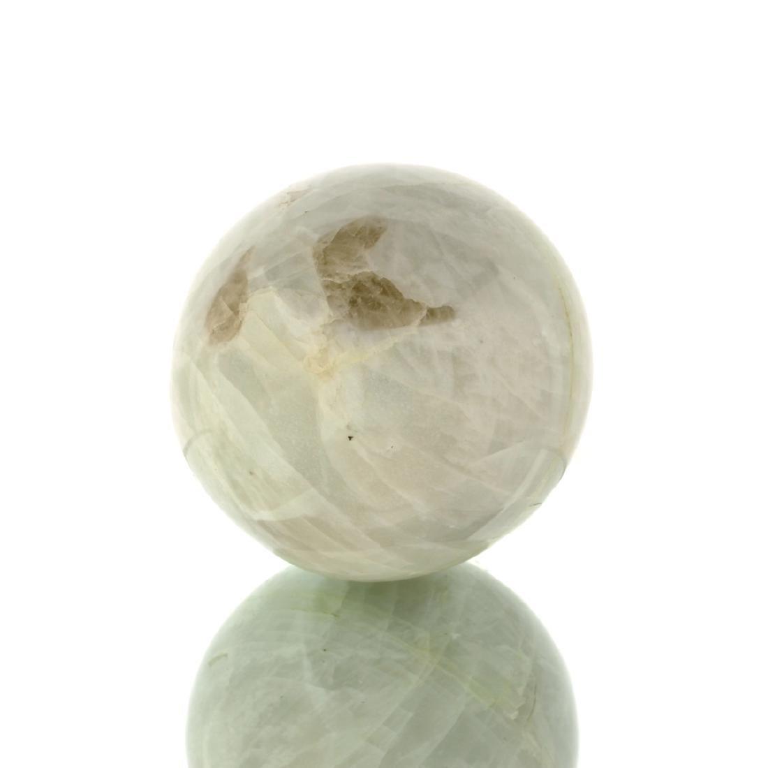 APP: 1k Rare 878.00CT Sphere Cut White Quartz Gemstone