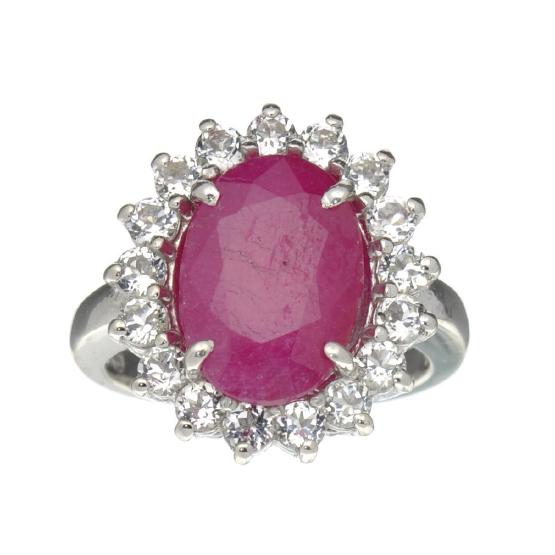 APP: 1.3k Fine Jewelry Designer Sebastian, 6.81CT Ruby