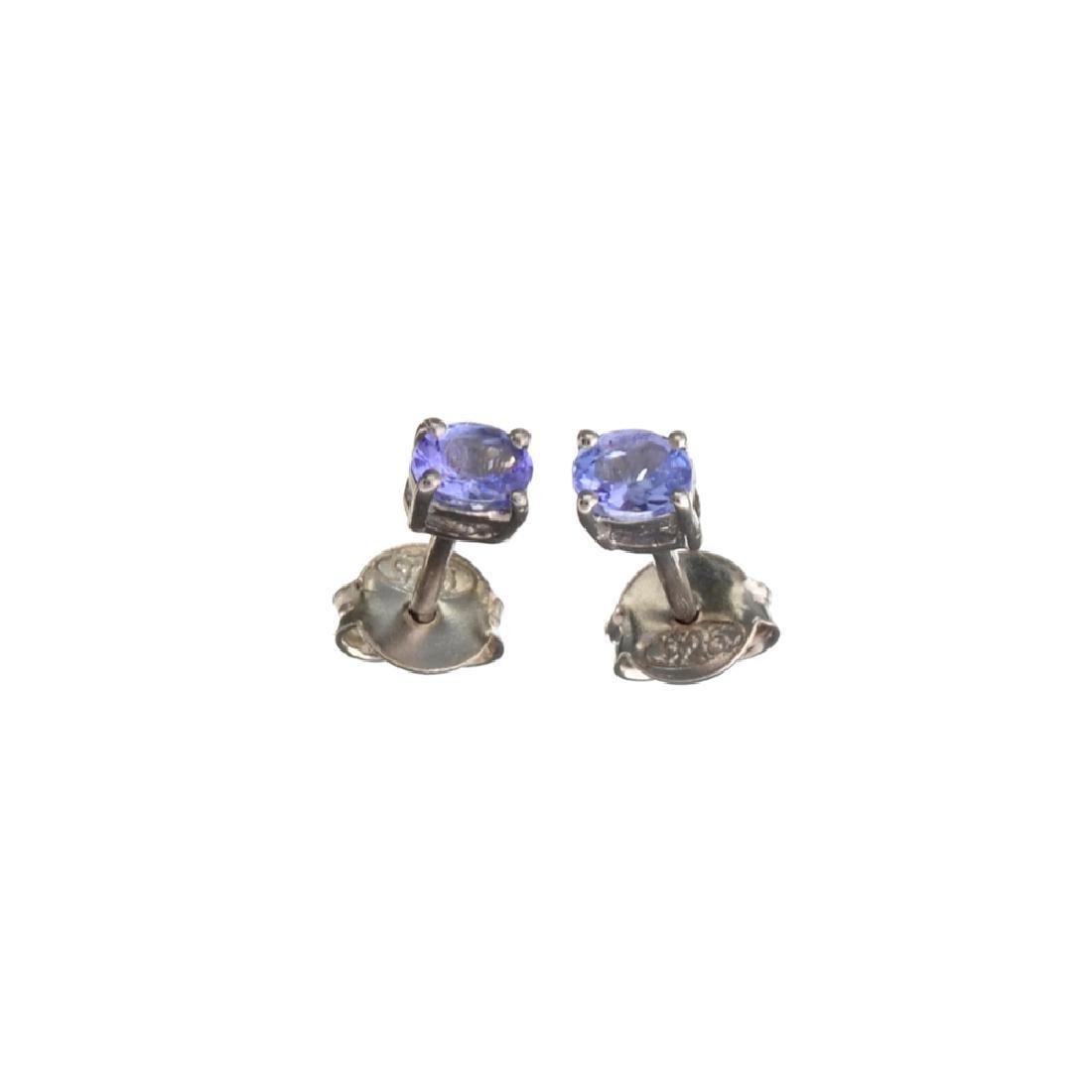 APP: 0.4k Fine Jewelry 0.40CT Oval Cut Tanzanite And