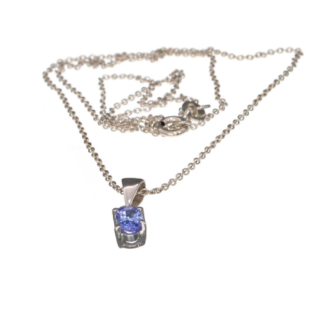 APP: 0.5k Fine Jewelry 0.44CT Oval Cut Tanzanite Over