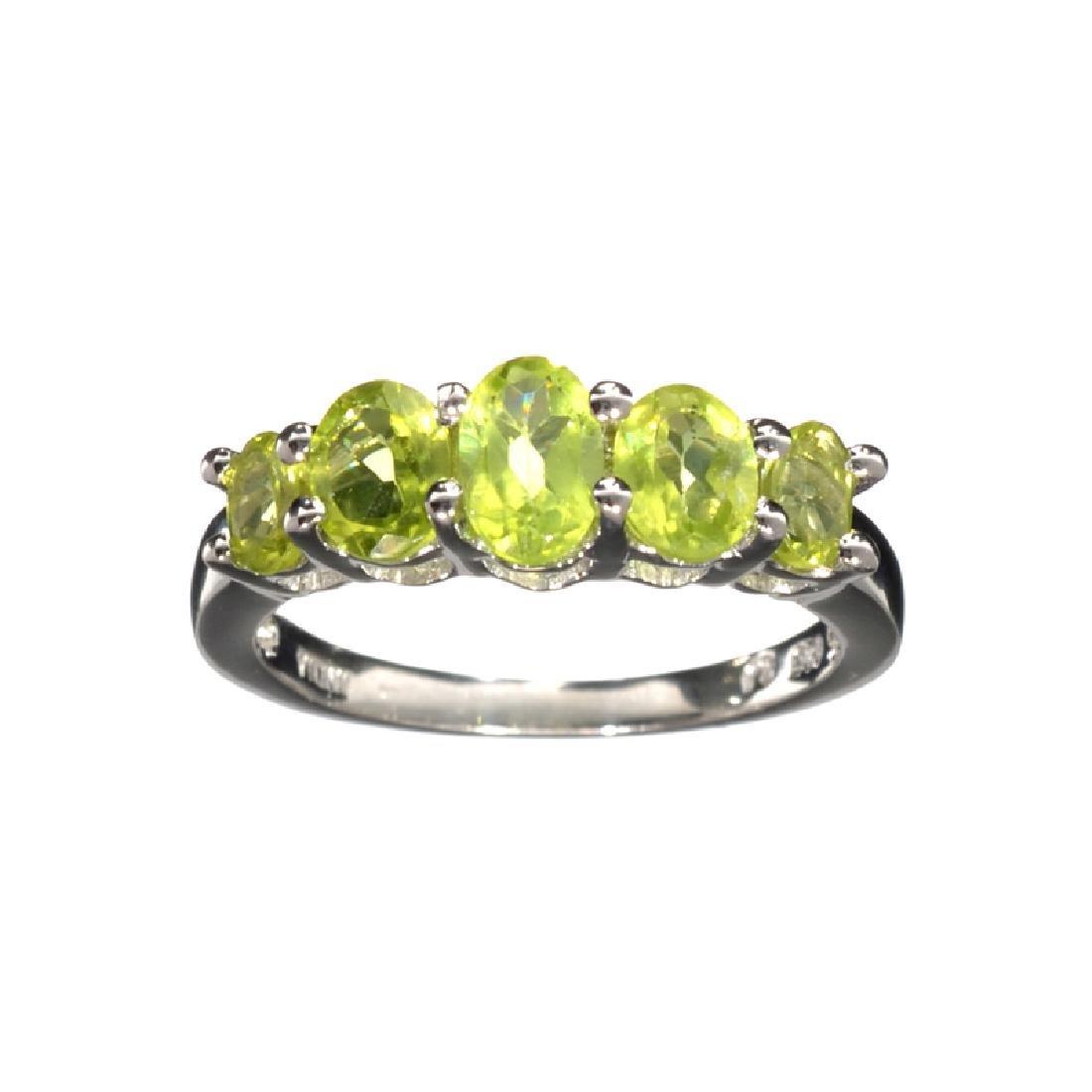 APP: 0.3k Fine Jewelry 1.49CT Oval Cut Green Peridot