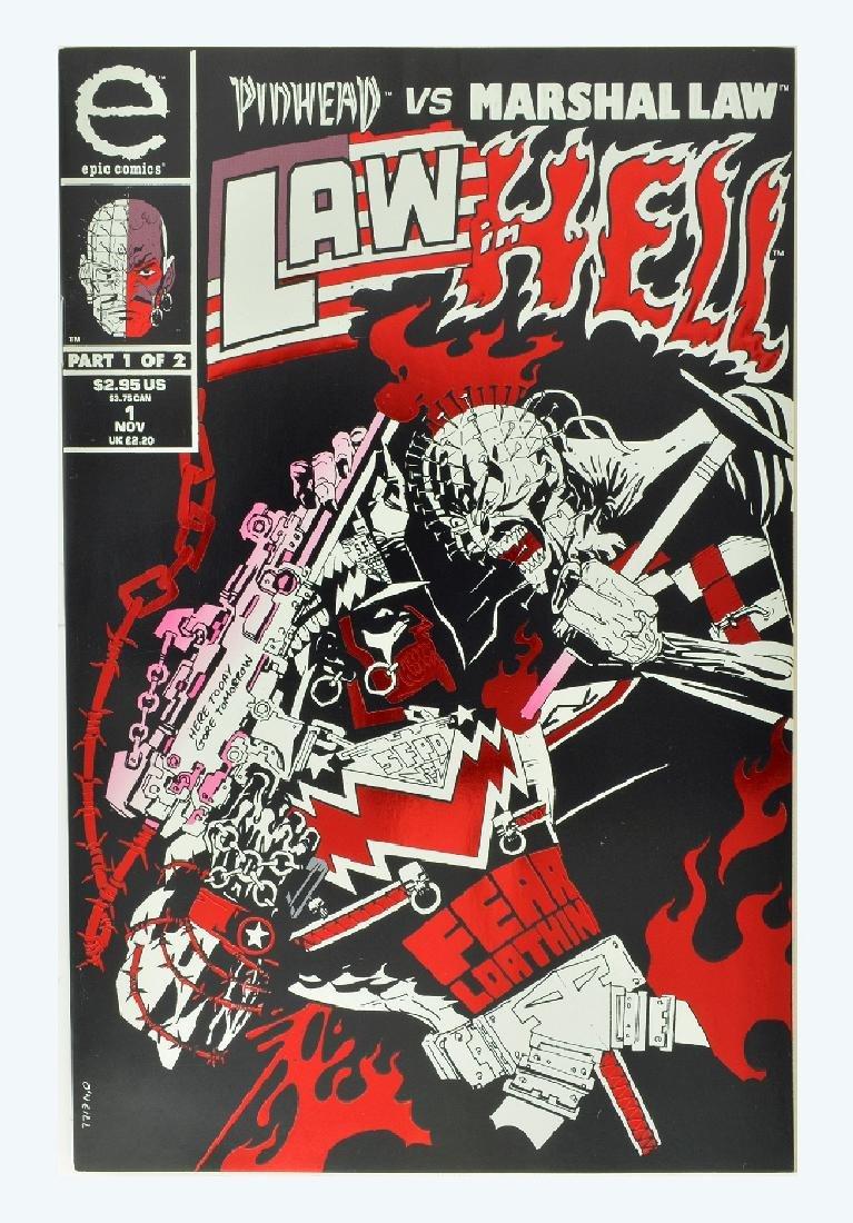 Pinhead vs. Marshal Law (1993) #1