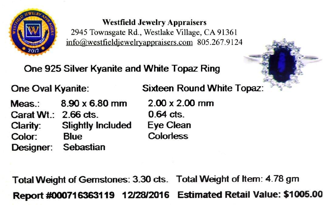 APP: 1k Fine Jewelry Designer Sebastian, 3.30CT Kyanite - 2