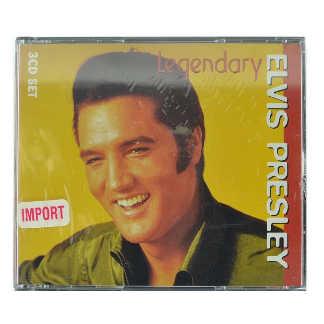 Elvis Presley 3 CD's Legendary (Unopen)
