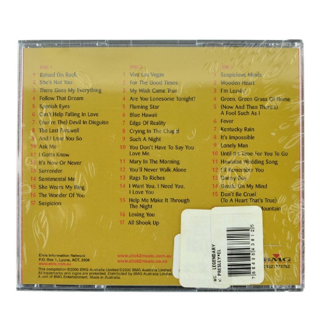 Elvis Presley 3 CD's Legendary (Unopen) - 2