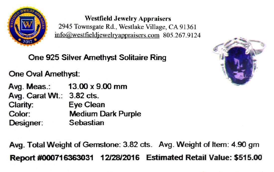 APP: 0.5k Fine Jewelry Designer Sebastian, 3.82CT Oval - 2
