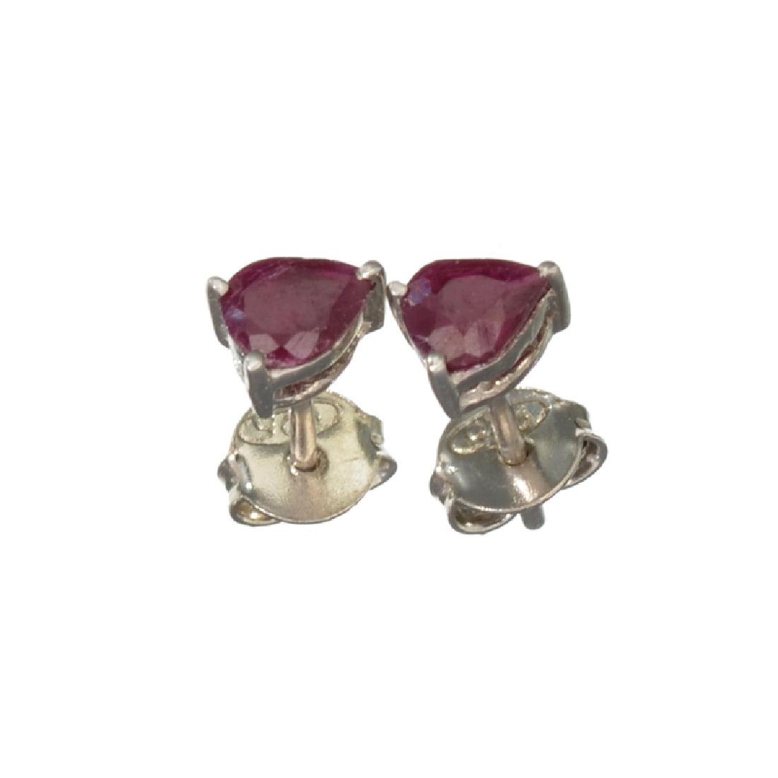 APP: 0.7k Fine Jewelry 0.50CT Pear Cut Ruby And