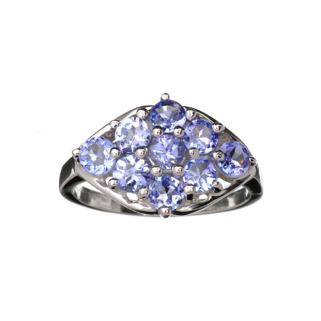 Designer Sebastian 1.80CT Oval Cut Violet Blue