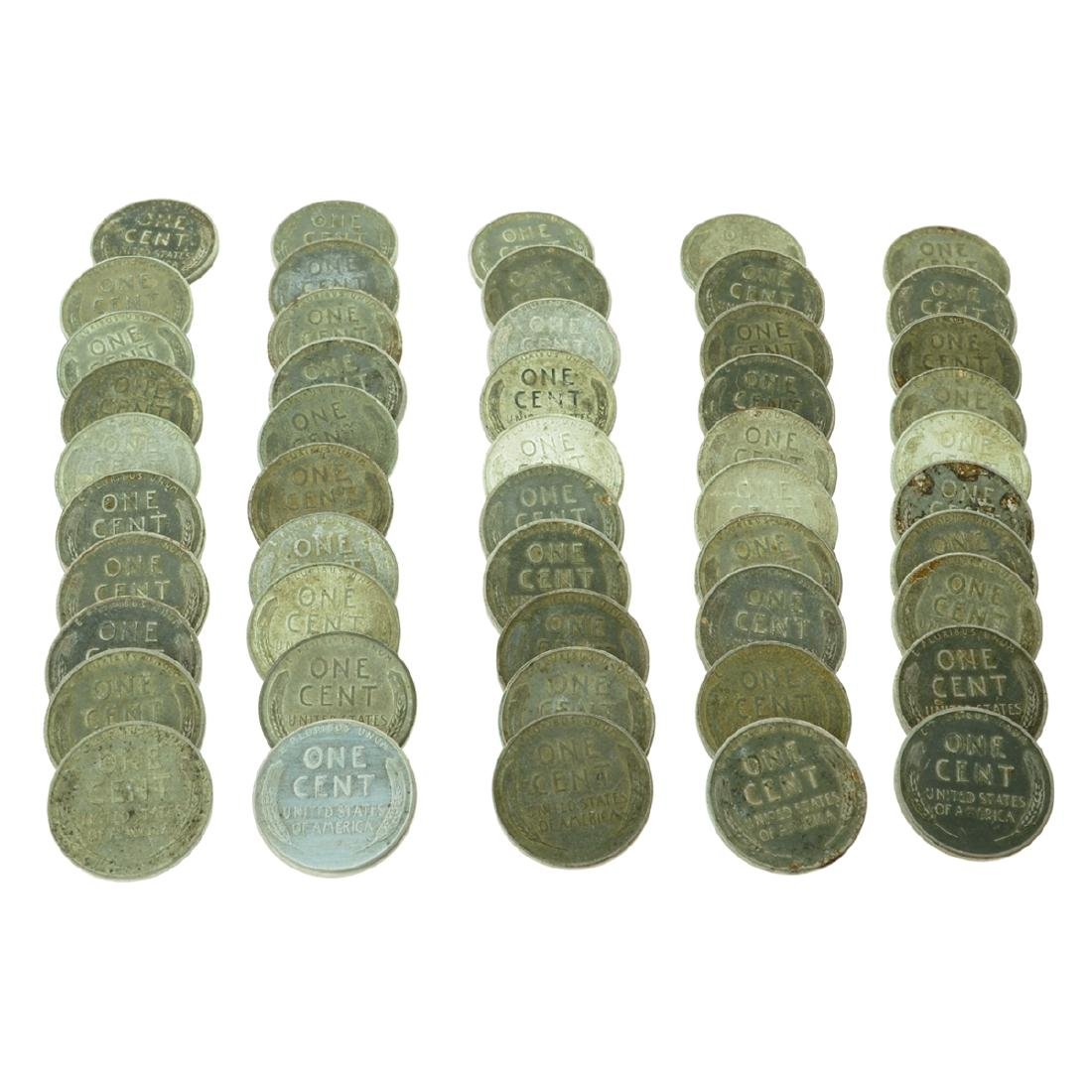 50 Rare 1943 War Steel Lincoln's - Investment - 2