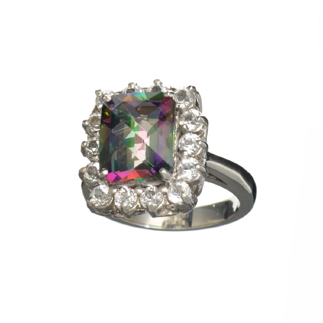 APP: 0.9k Fine Jewelry 4.34CT Multicolor Mystic Quartz