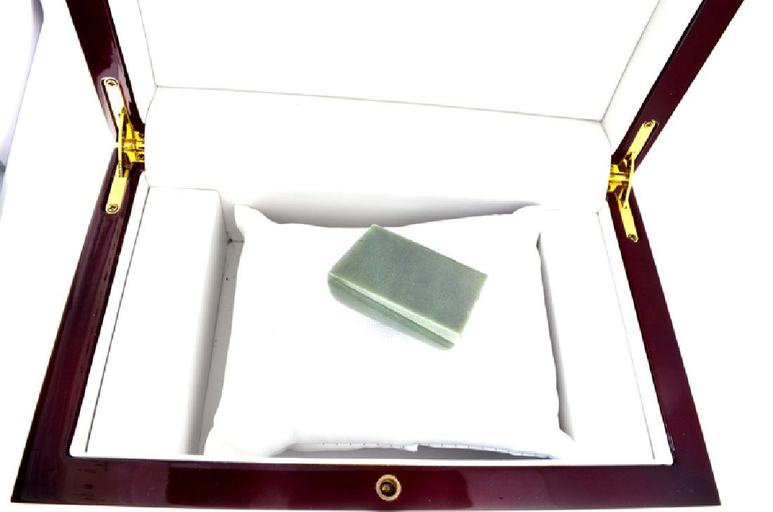 APP: 3.7k 261.50CT Rectangle Cut Green Jade Gemstone