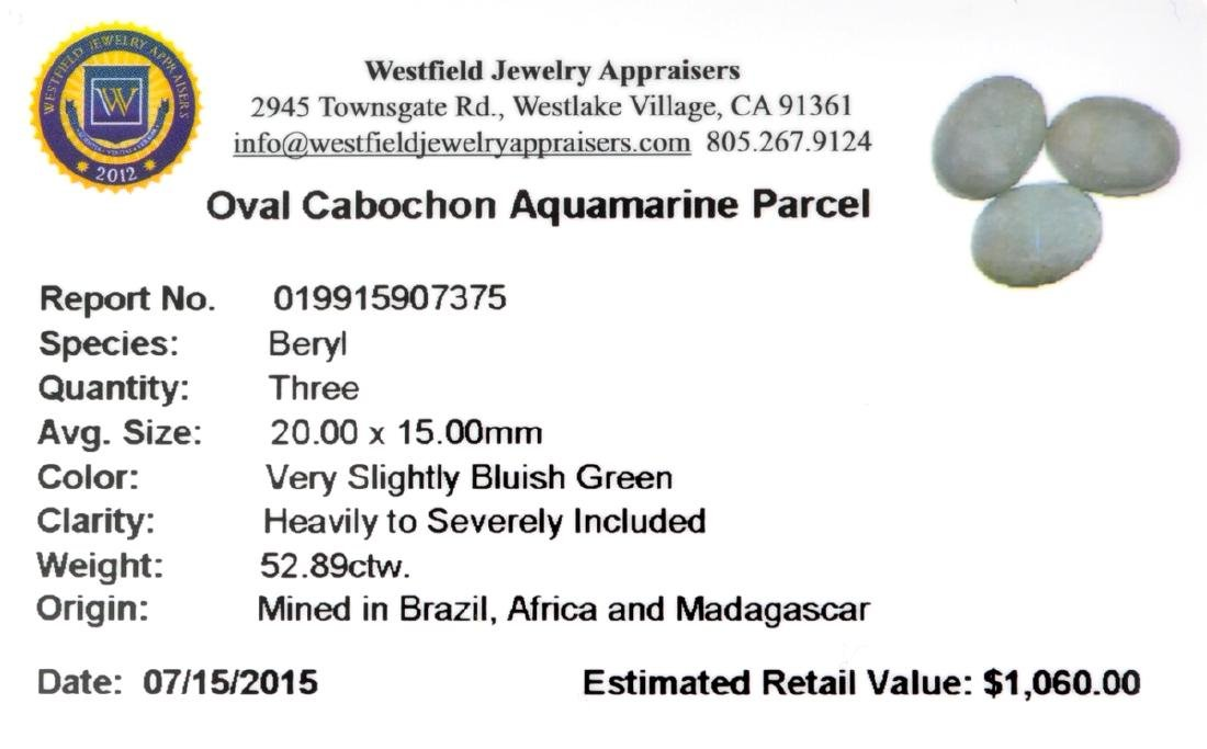 APP: 1.1k 52.89CT Oval Cut Cabochon Greenish Blue - 2