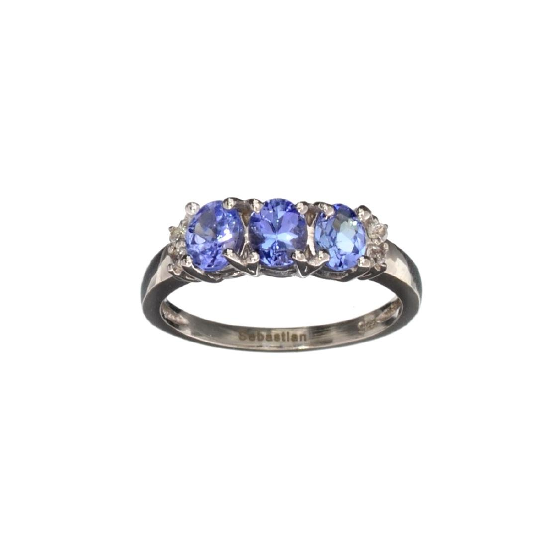 APP: 1.2k Fine Jewelry 1.30CT Oval Cut Tanzanite  And