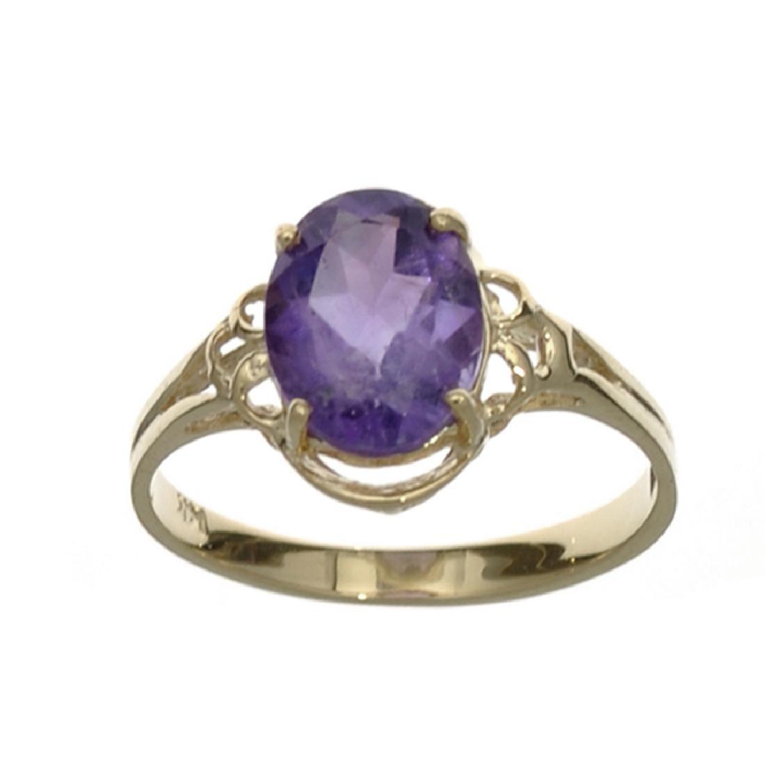 APP: 0.6k Fine Jewelry 14 KT Gold, 1.76CT Oval Cut