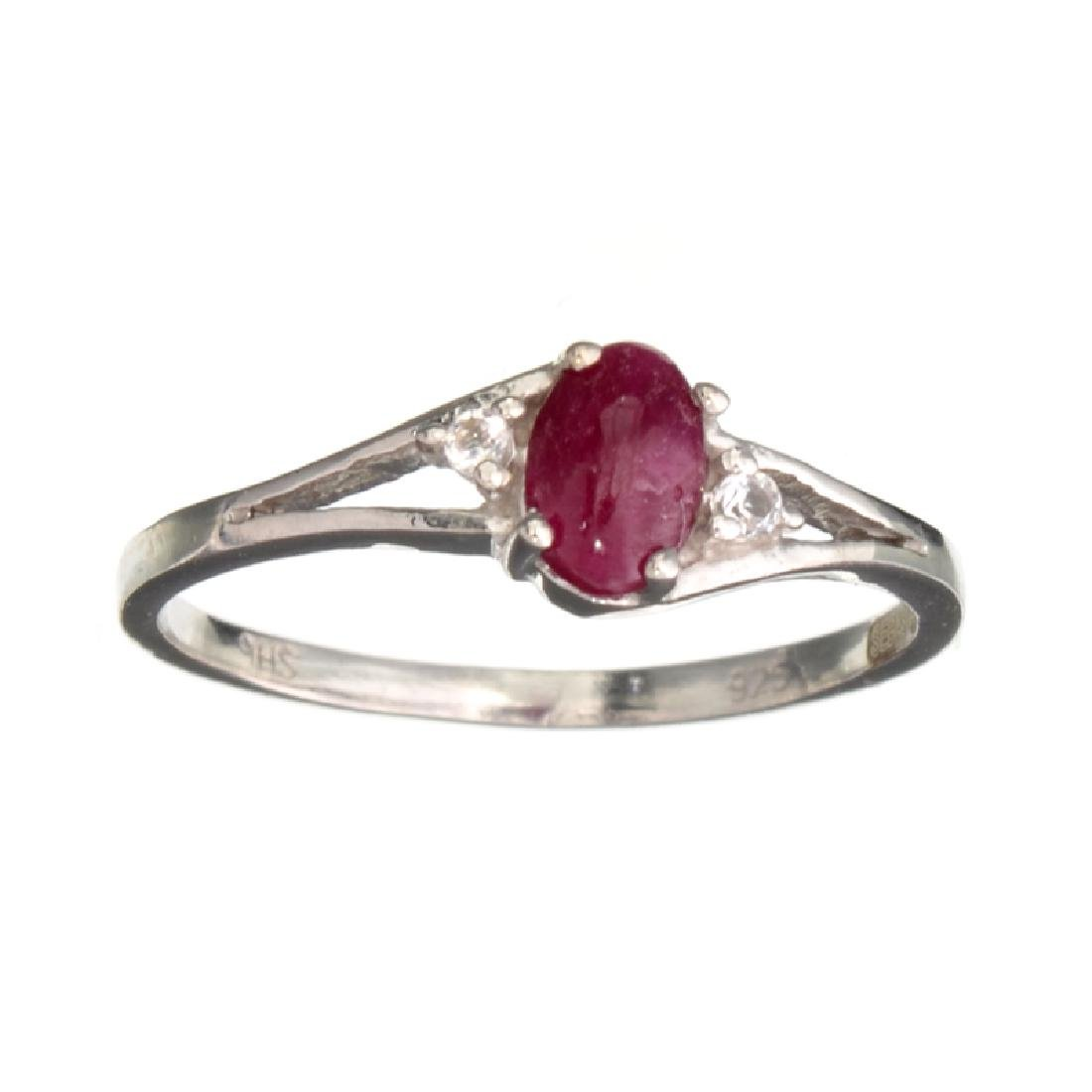 APP: 0.7k Fine Jewelry Designer Sebastian 0.40CT Ruby