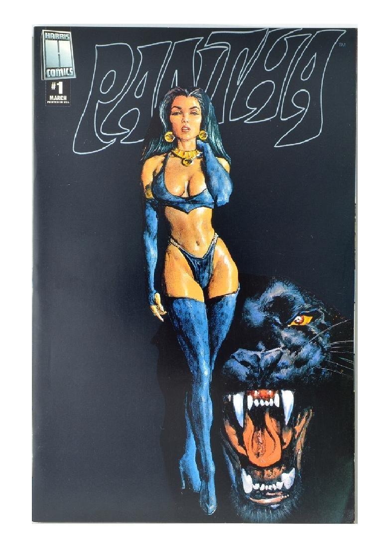 Vampirella vs. Pantha (1997) Black Variant #1