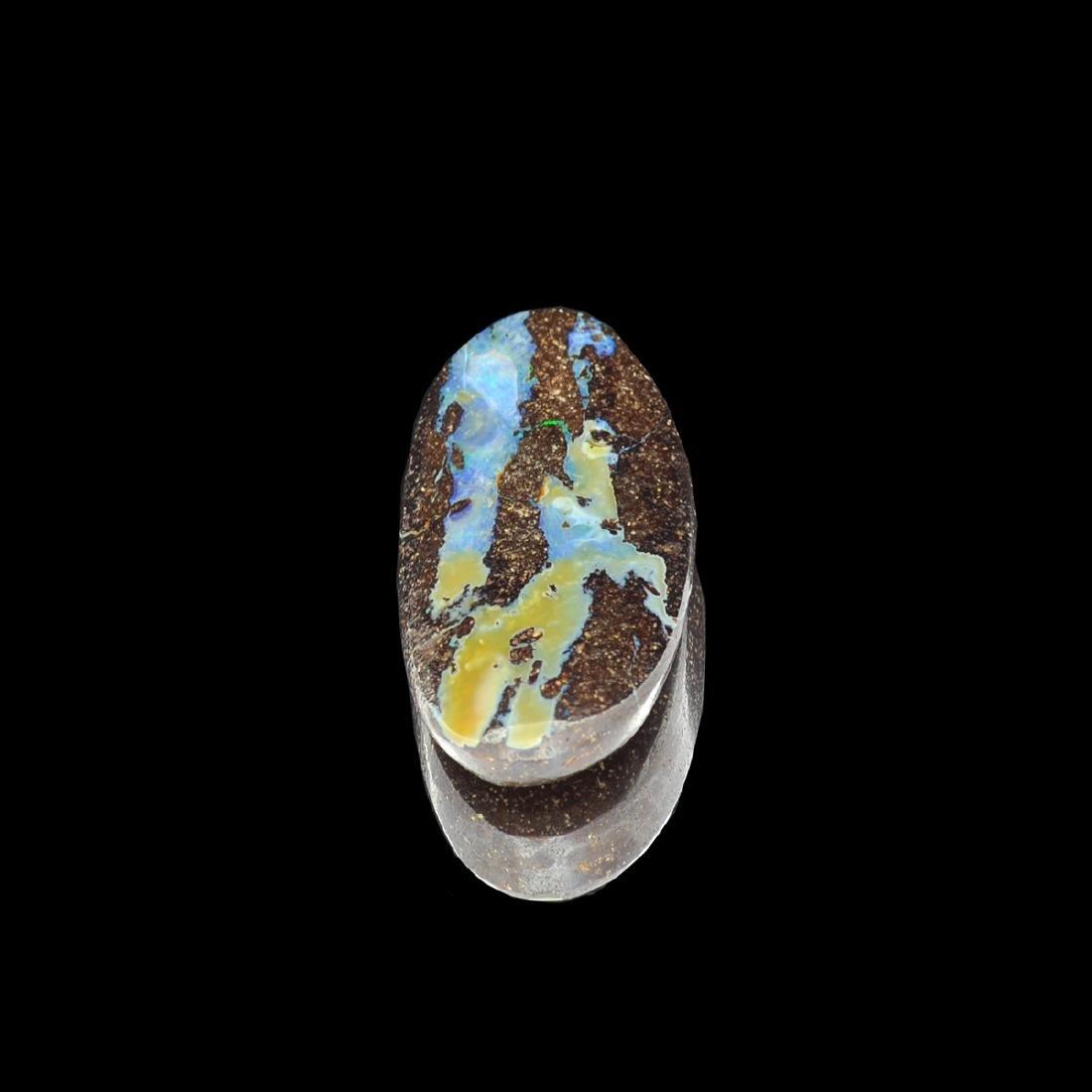 Gorgeous 24.30CT Rare Boulder Opal Gemstone