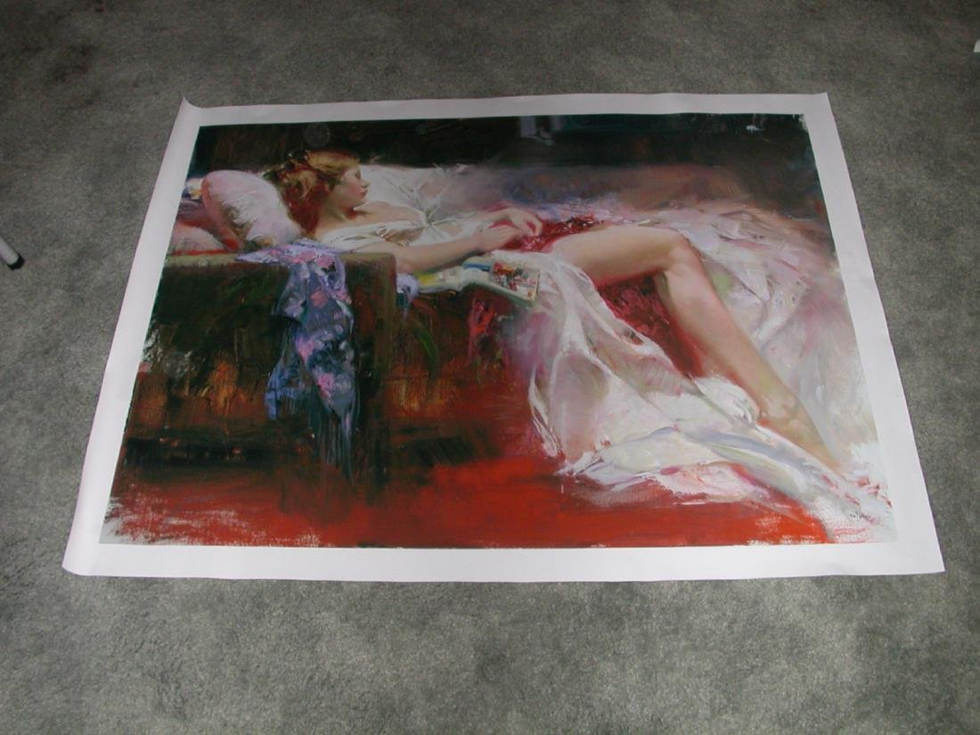 Sweet Repose' by Pino Hand Signed and Numbered 30x40