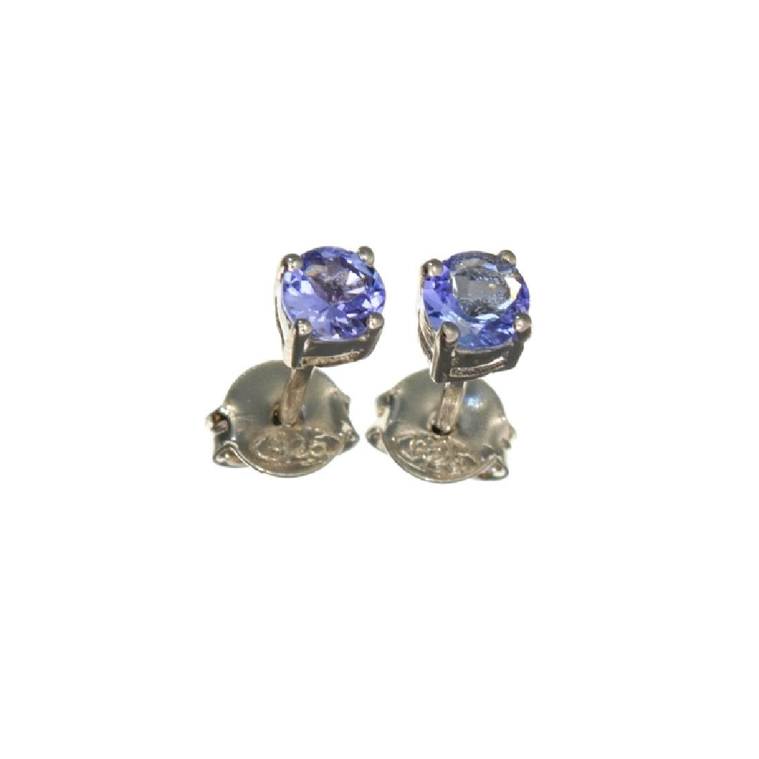 APP: 0.6k Fine Jewelry 0.60CT Tanzanite And Sterling