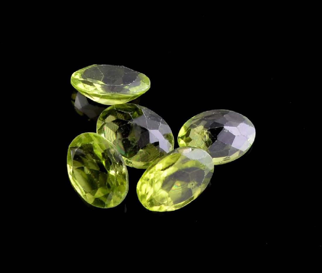 APP: 1.2k 6.05CT Oval Cut Green Peridot Parcel