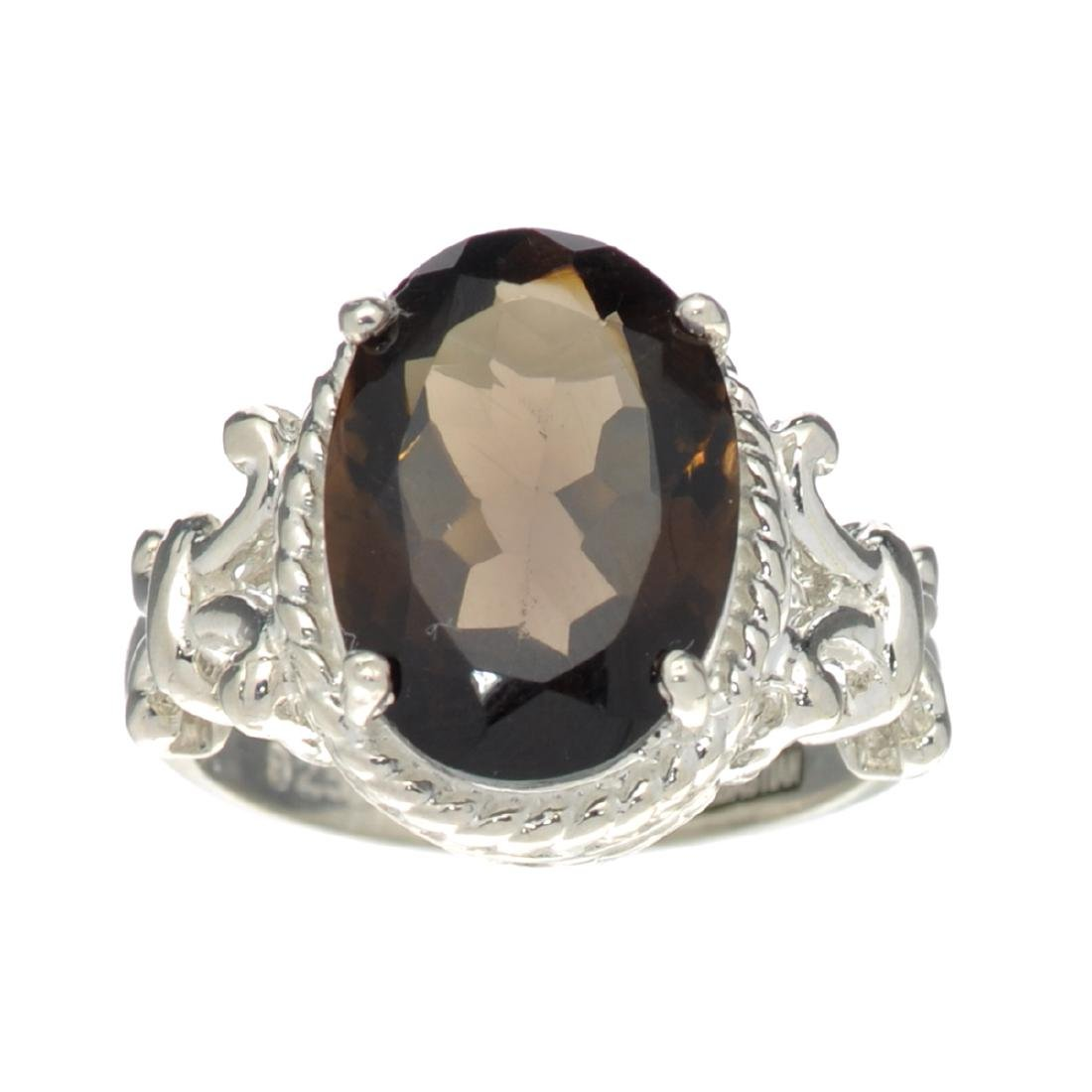 APP: 0.5k Fine Jewelry Designer Sebastian, 3.91CT Brown