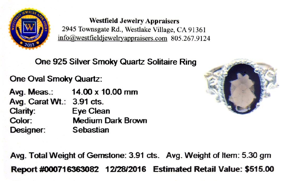 APP: 0.5k Fine Jewelry Designer Sebastian, 3.91CT Brown - 2