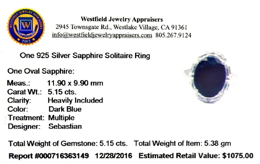 APP: 1.1k Fine Jewelry Designer Sebastian, 5.15CT Oval - 2