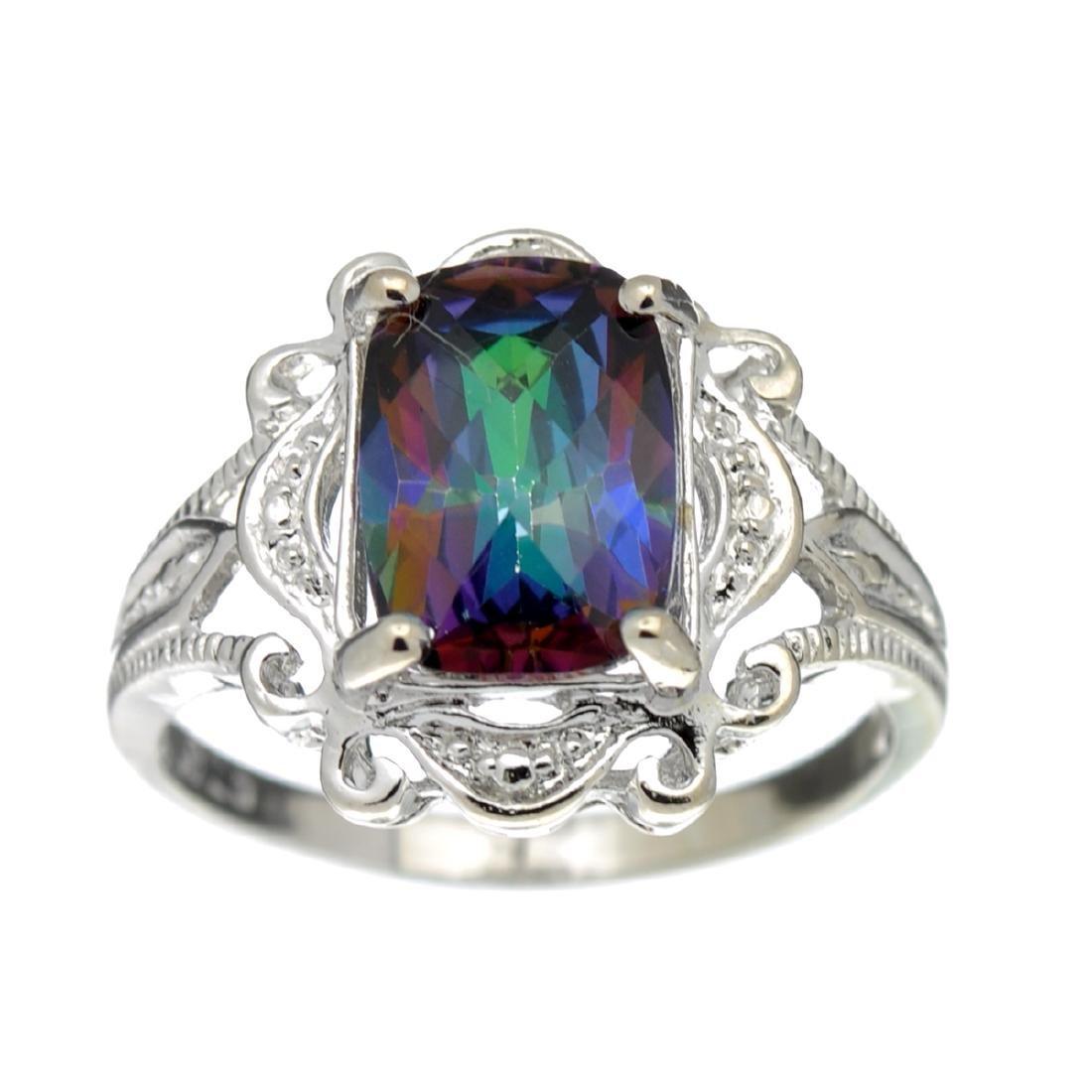 Fine Jewelry Designer Sebastian, Mystic And White Topaz