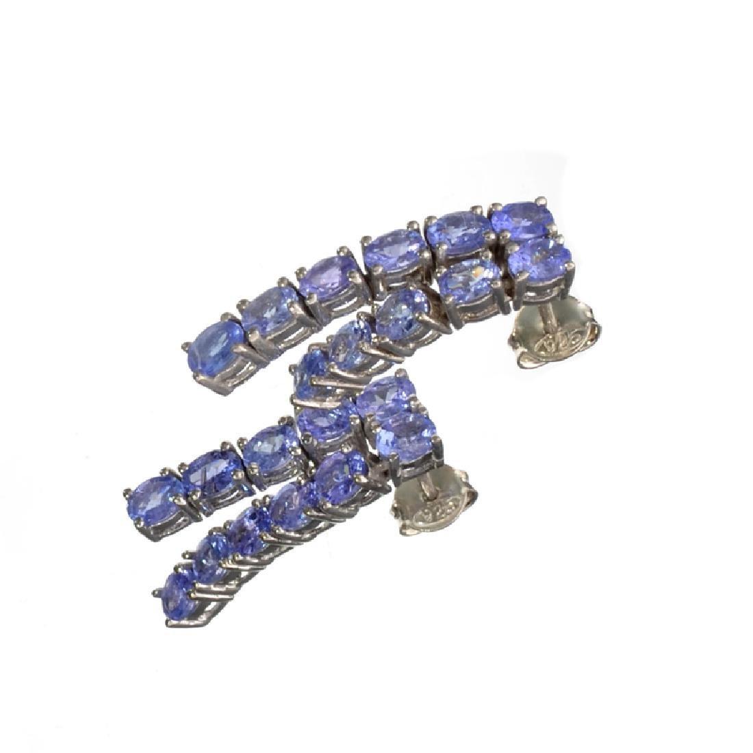 APP: 2.4k Fine Jewelry 3.60CT Oval Cut Tanzanite And