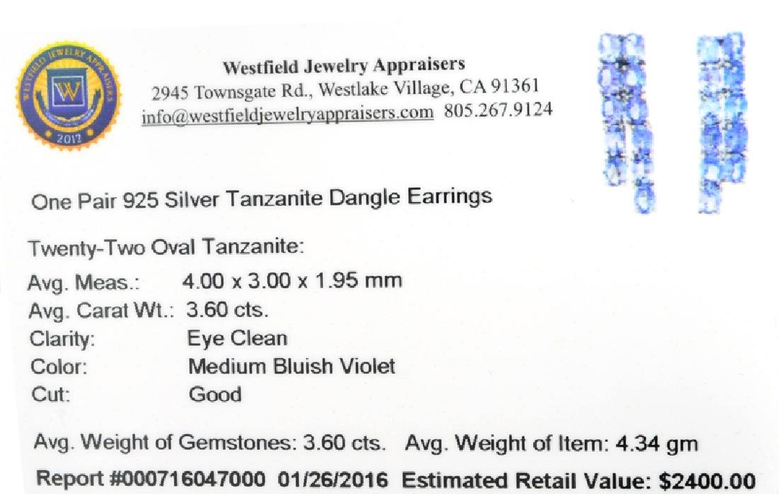 APP: 2.4k Fine Jewelry 3.60CT Oval Cut Tanzanite And - 2