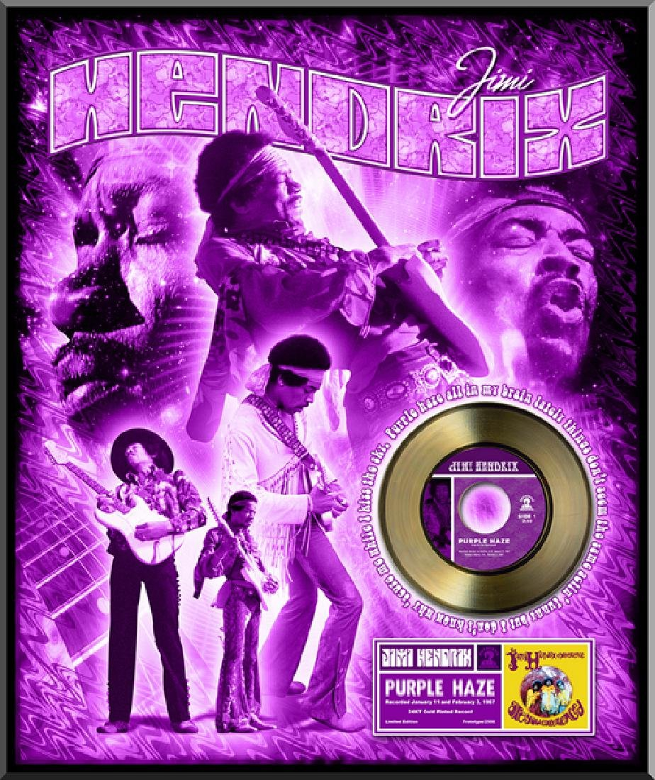 ''Purple Haze'' Gold 45