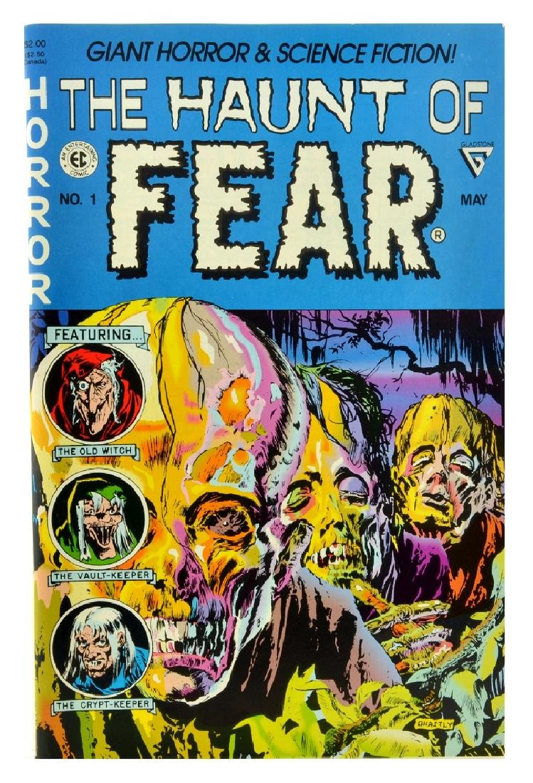 Haunt of Fear (1991 Gladstone) Issue 1