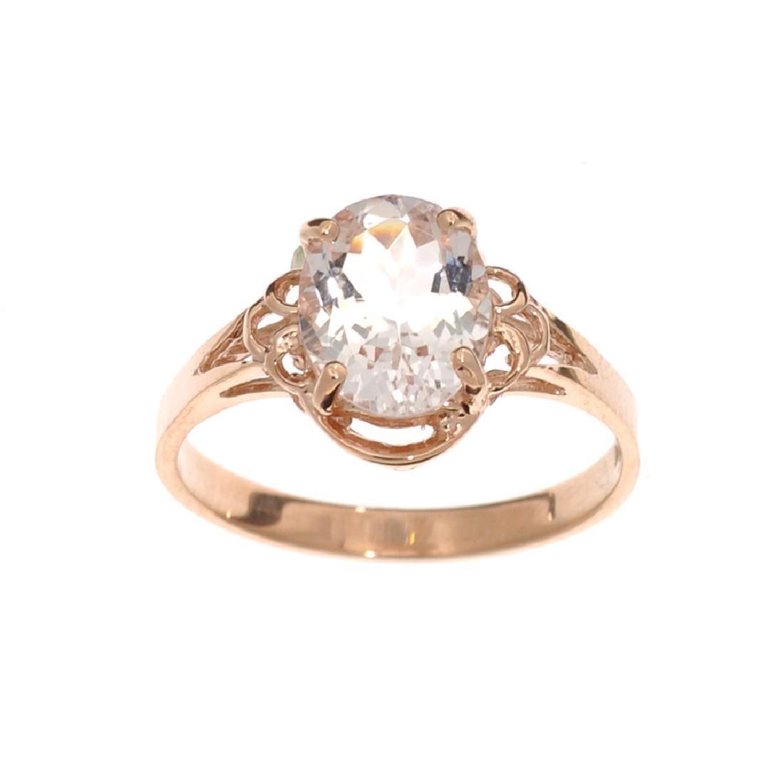 APP: 1.4k Fine Jewelry 14 KT Gold, 1.65CT Oval Cut