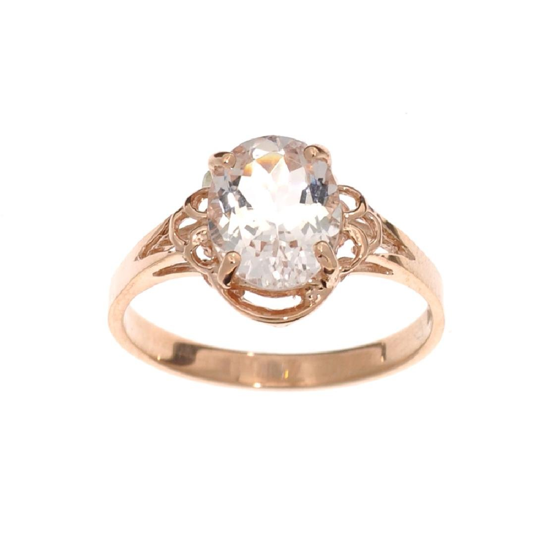 APP: 1.4k Fine Jewelry 14 KT Gold, 1.65CT Oval Cut