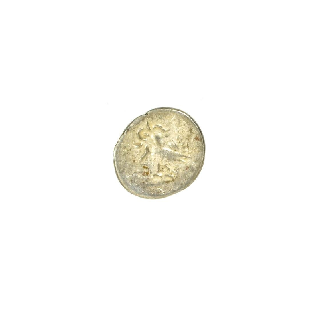 1847 Cambodia Billion 1/8 Tical Hamza Bird Facing Left,