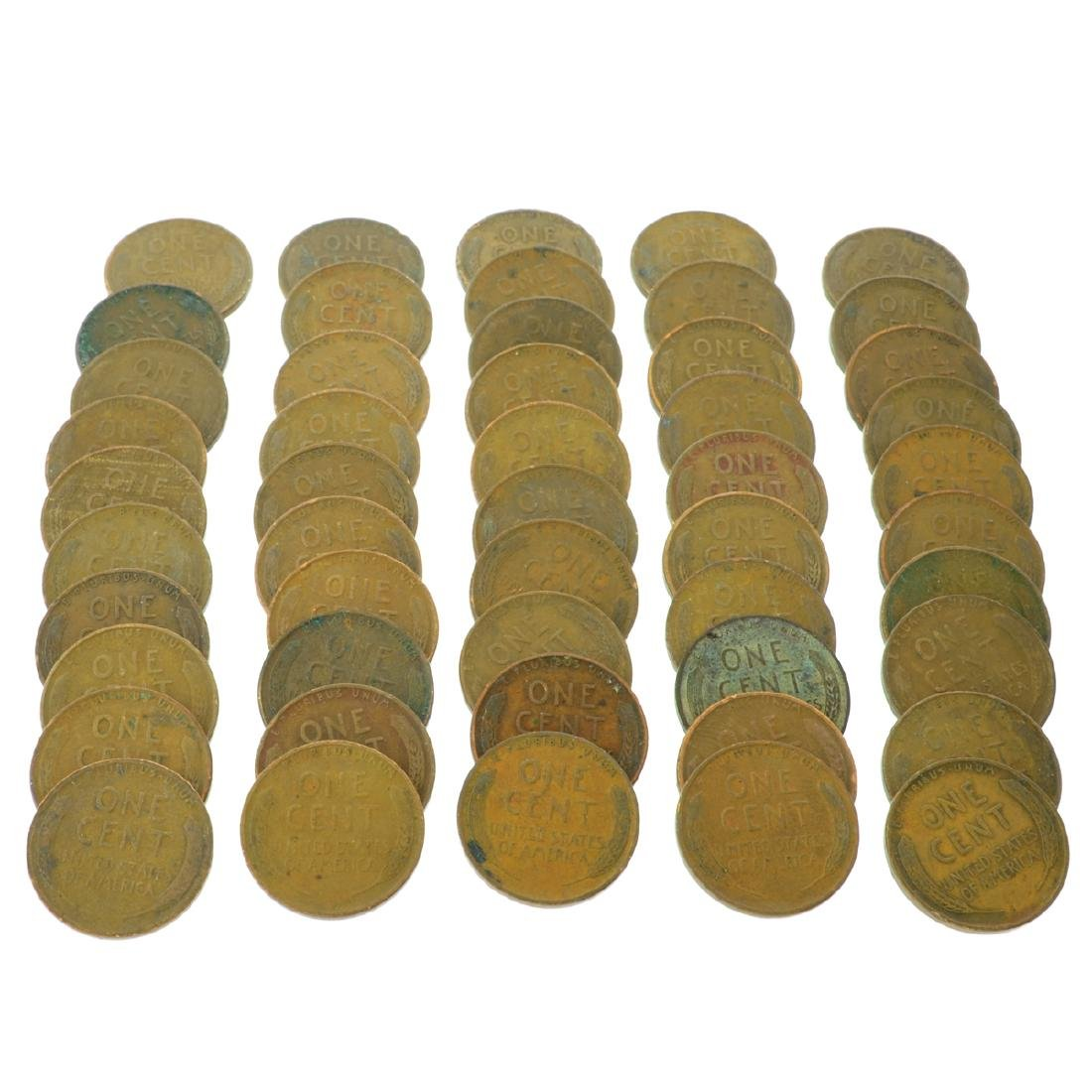 50 Rare 1930's Lincoln Cents - Investment - 2