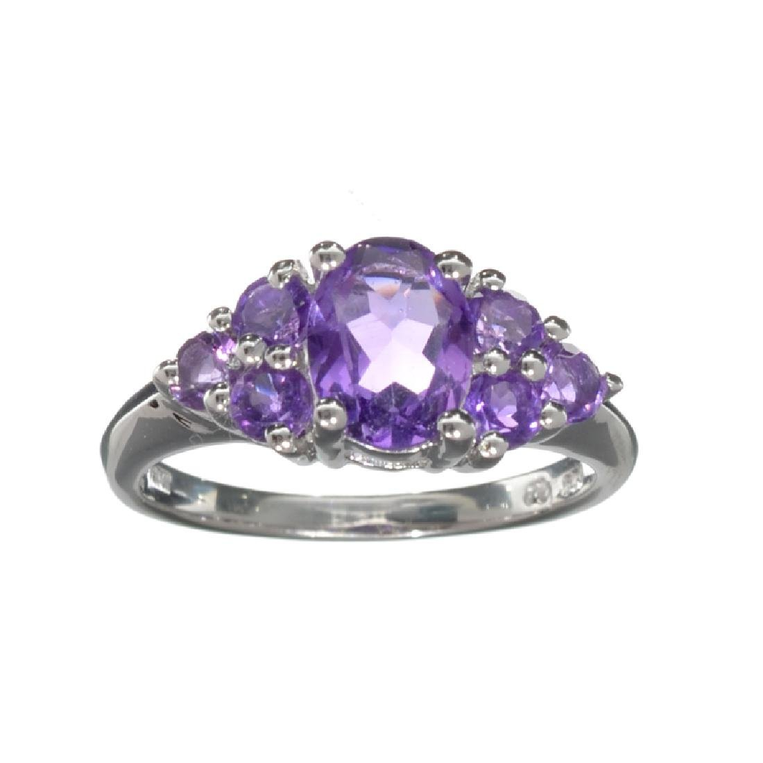 APP: 0.3k Fine Jewelry 1.80CT Oval Cut Amethyst And