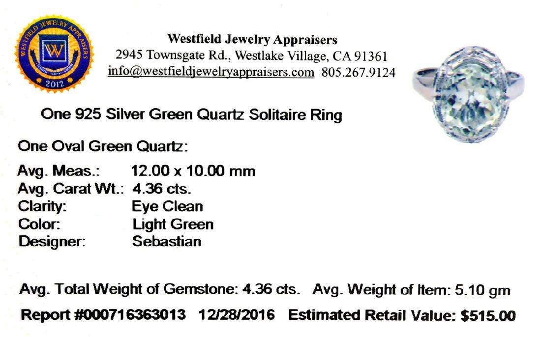 APP: 0.5k Fine Jewelry Designer Sebastian, 4.36CT Oval - 2