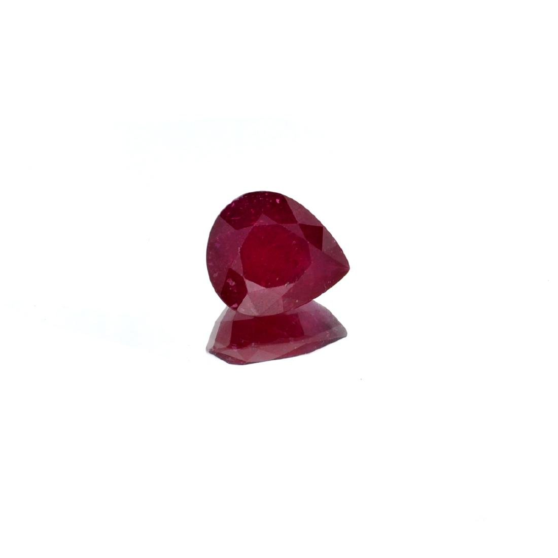 APP: 1.7k 6.80CT Pear Cut Ruby Gemstone