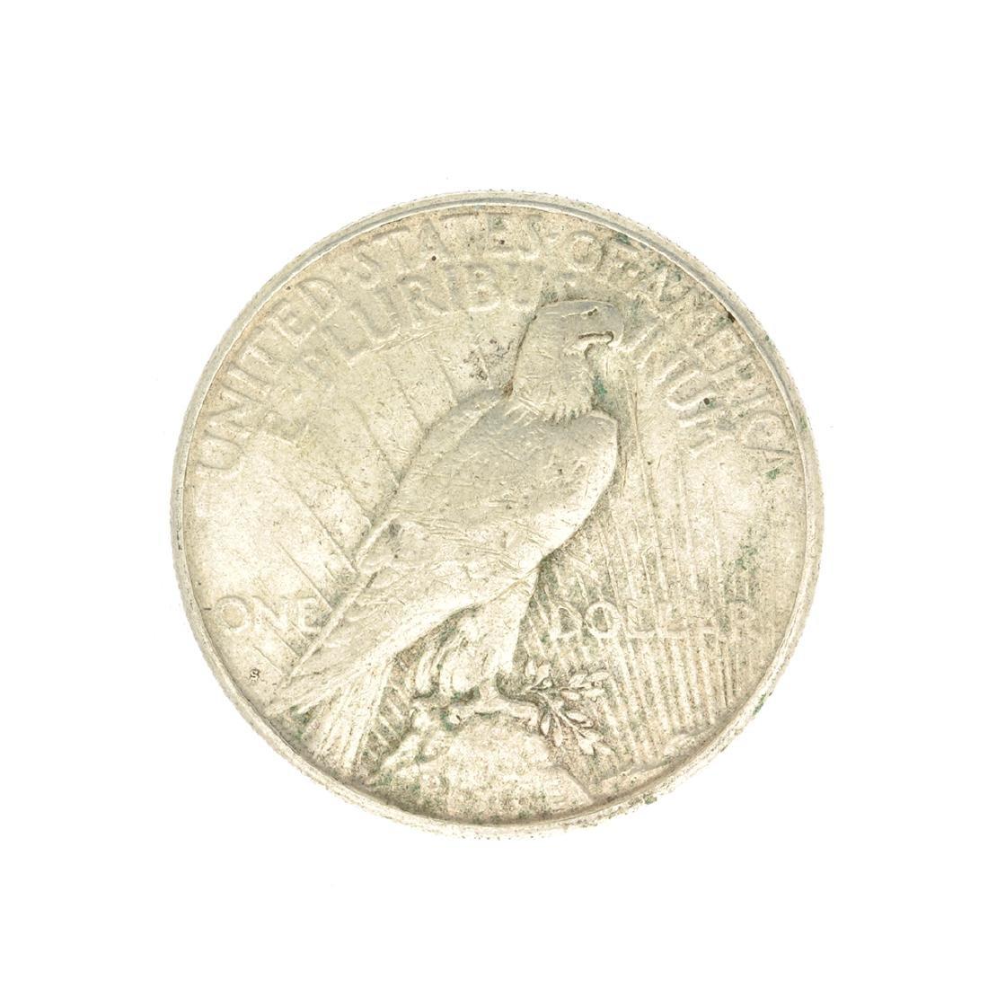 Rare 1922-S U.S. Peace Type Silver Dollar - 2