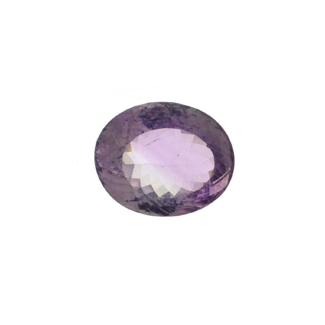 APP: 2.5k 28.50CT Oval Cut Light Purple Amethyst Quartz