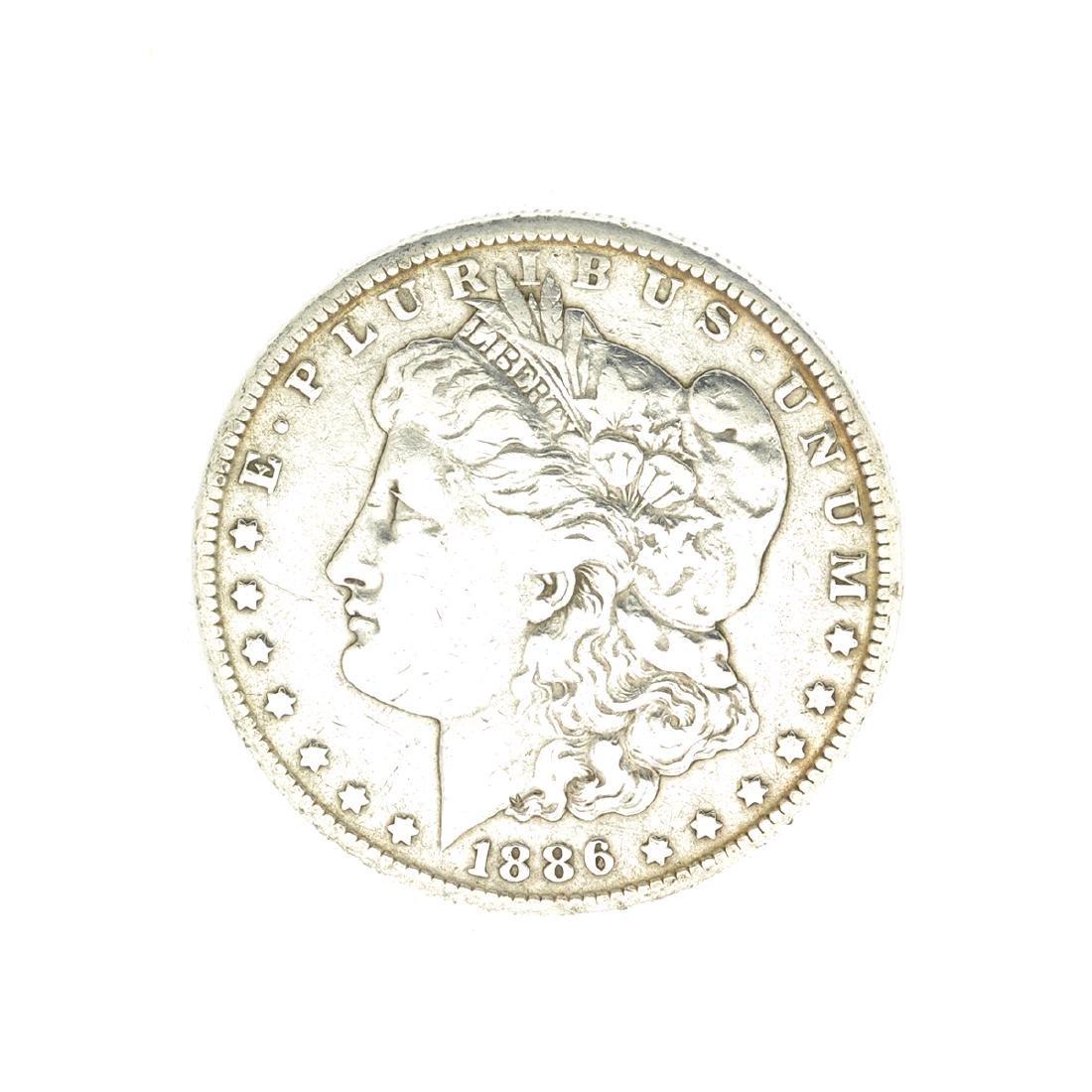 Rare 1886-O U.S. Morgan Silver Dollar
