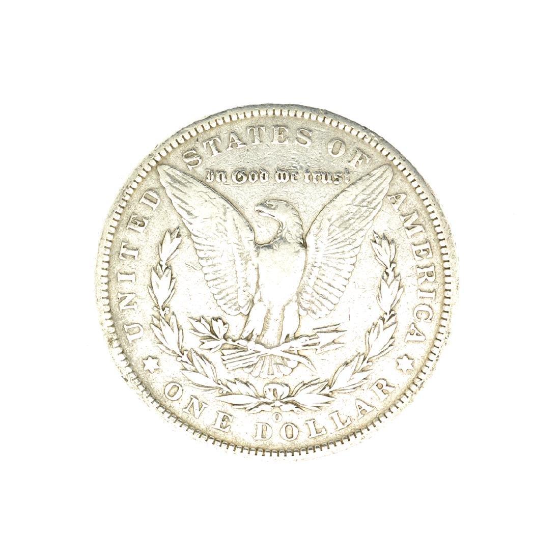 Rare 1886-O U.S. Morgan Silver Dollar - 2