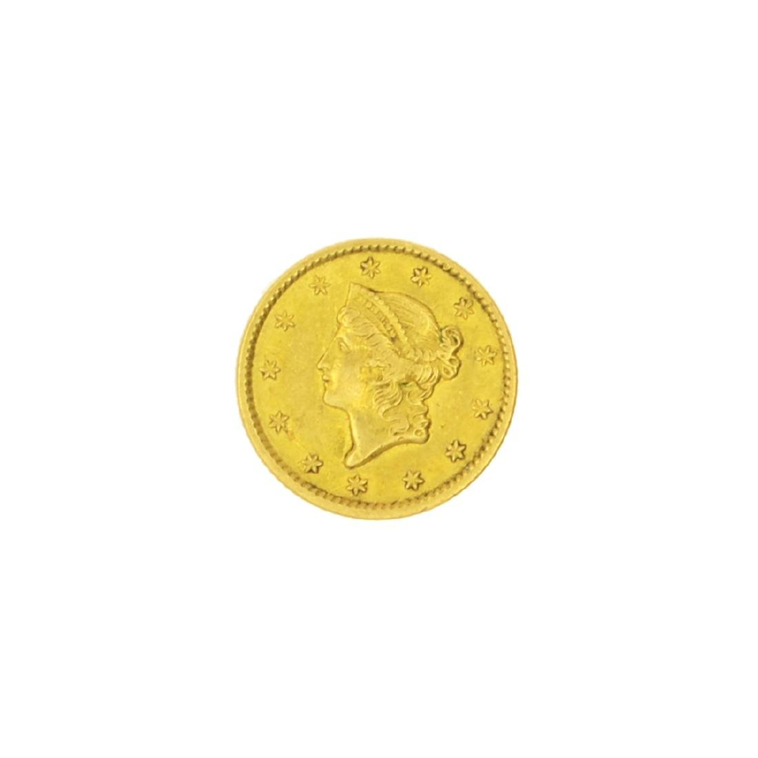 Very Rare 1850 $1 U.S. Liberty Head Gold Coin Great