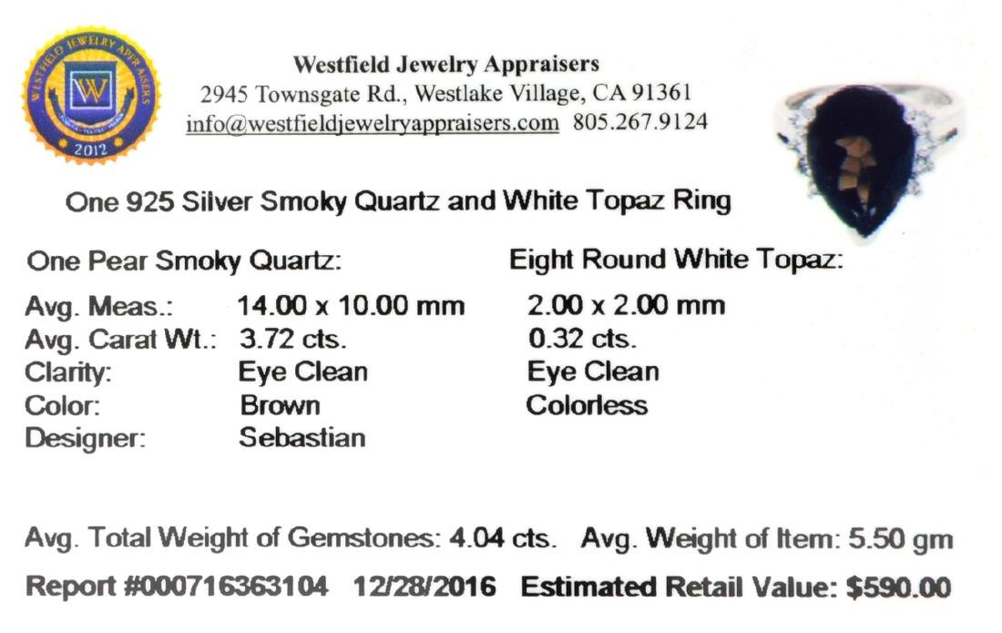 APP: 0.6k Fine Jewelry Designer Sebastian, 4.04CT Smoky - 2