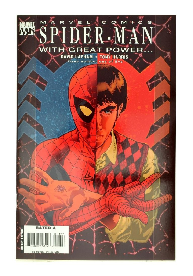 Spider-Man With Great Power (2008) #1