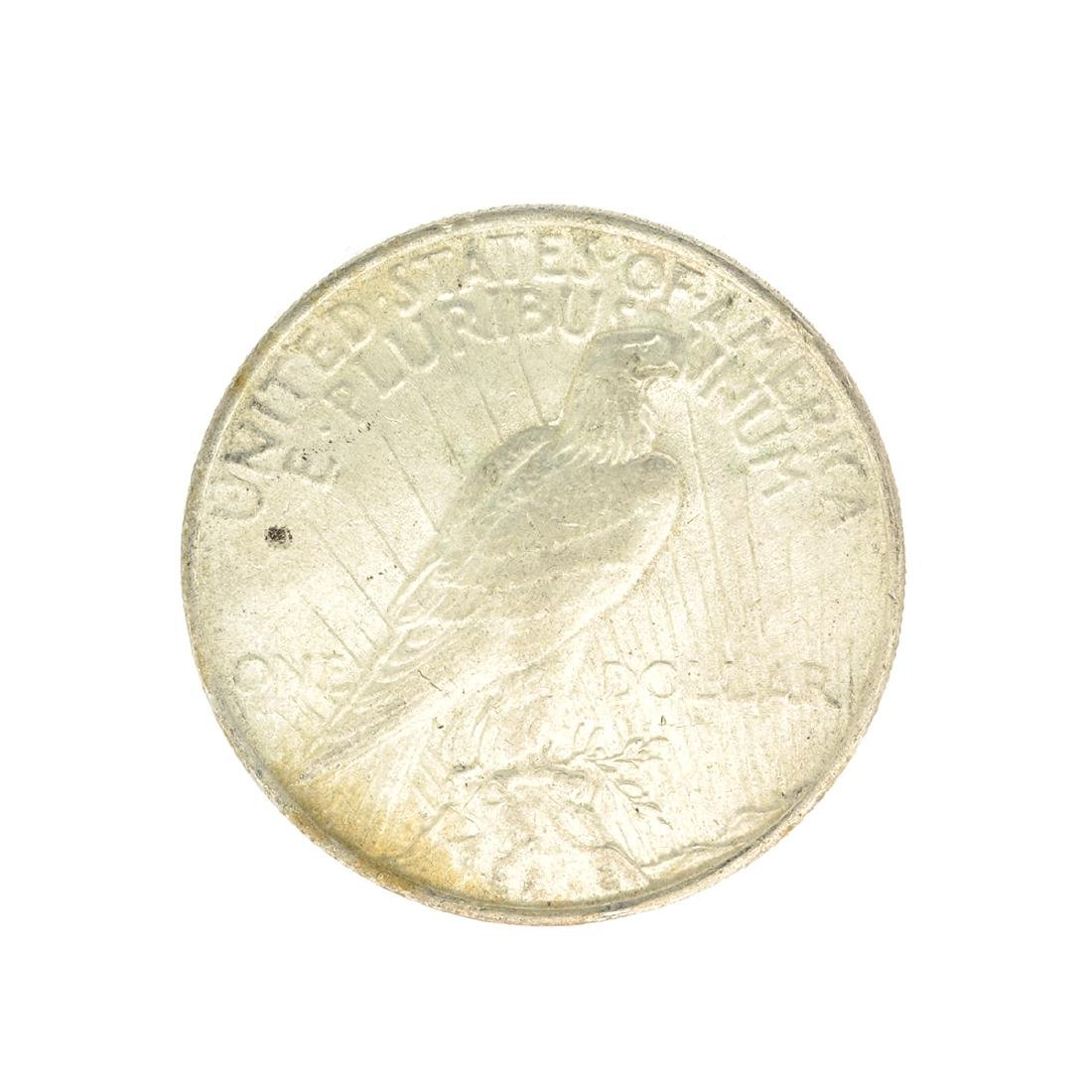 Rare 1922 U.S. Peace Type Silver Dollar - 2