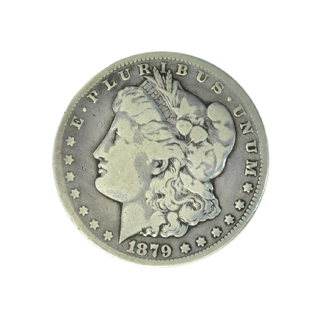 *1879-CC Silver Morgan Dollar Coin (JG)