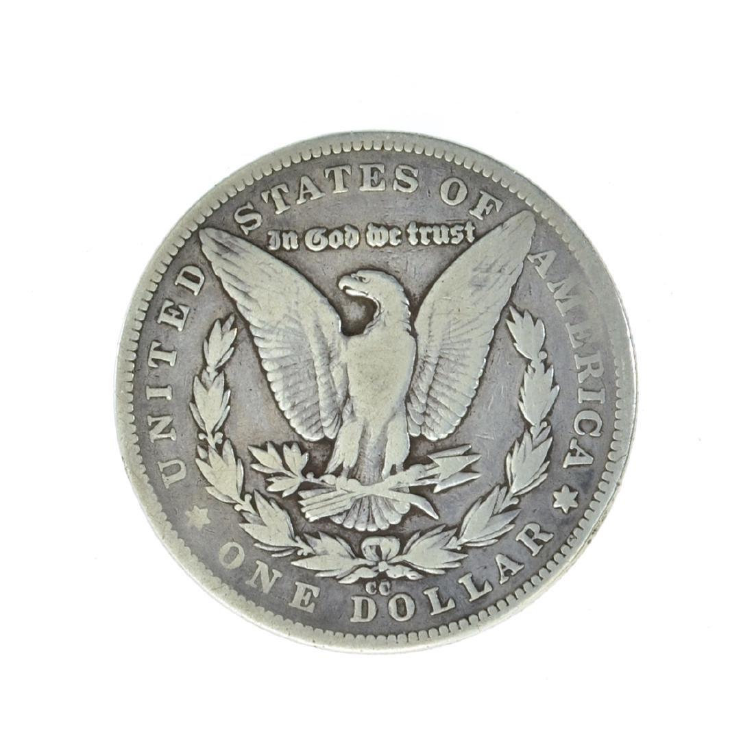*1879-CC Silver Morgan Dollar Coin (JG) - 2